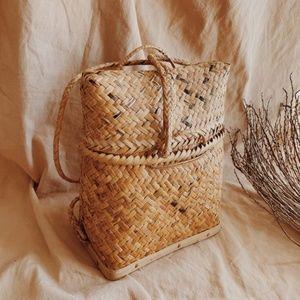 Handbags - Vintage Ifguao Woven Wicker Rattan BACKPACK Bontoc